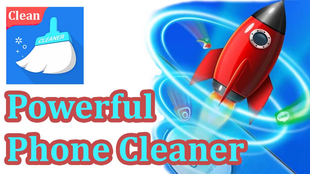 powerful phone cleaner, clean master